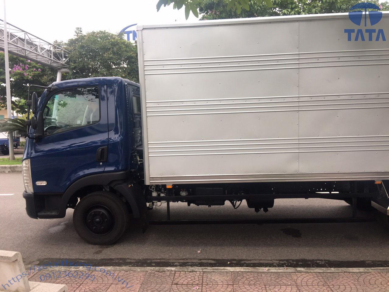 xe tải 7 tấn tata thùng kín 4